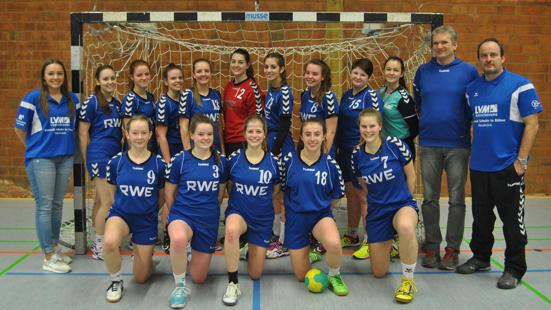 Weibliche A-Jugend der SG-Teuto-Handball