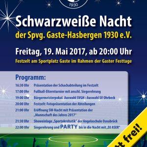 Schwarzweiße Nacht 2017