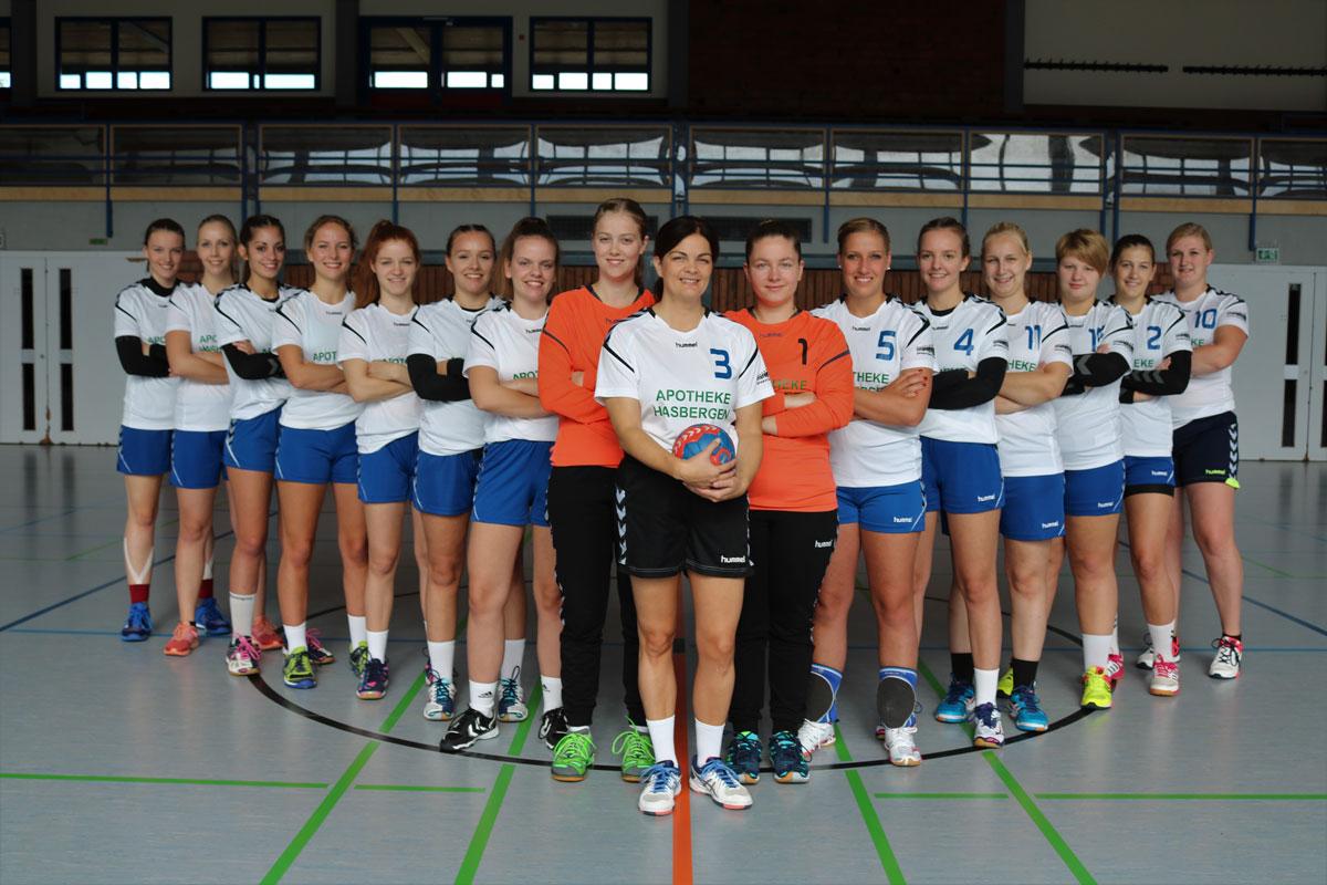 1. Damen der SG-Teuto-Handball