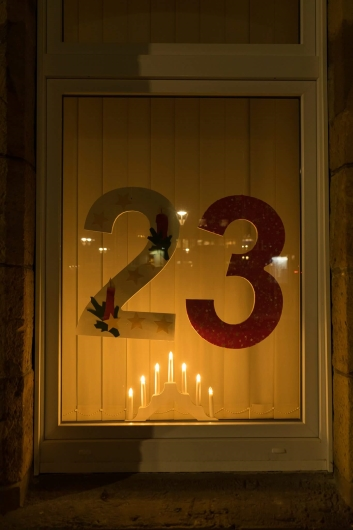 Spvg. Niedermark öffnet 23. Adventskalendertürchen