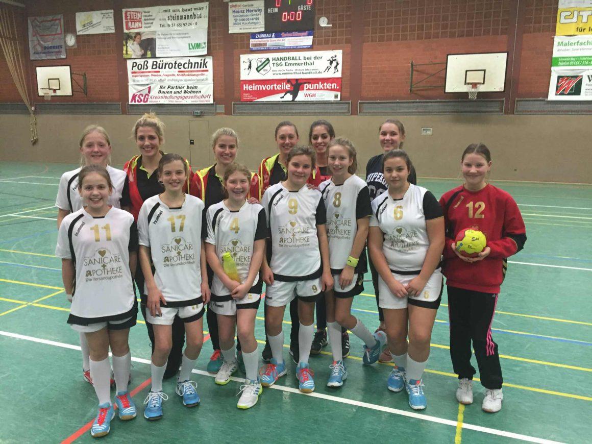 Platz 3 beim HVN-Turnier geht an die SG Teuto Handball