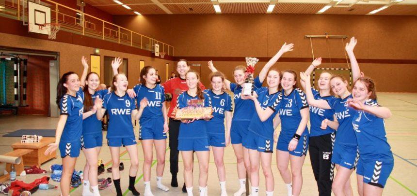 Landesliga Meister weibliche B-Jugend!!!