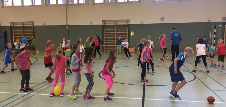 Handballaktionstag an der Grundschule Sankt Martin