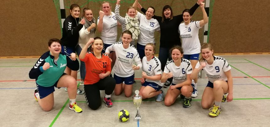 Teuto-Damen 1 gewinnen sensationell den Regionspokal 2017 /2018!