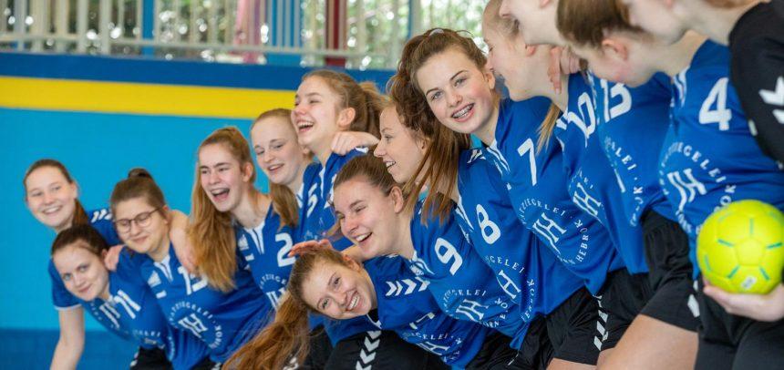 Weibliche B-Jugend startet turbulent, aber erfolgreich ins neue Jahr